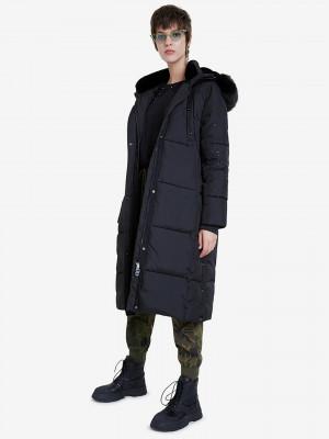 Katia Kabát Desigual Černá