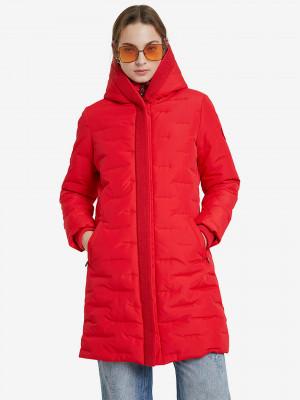 Anya Kabát Desigual Červená