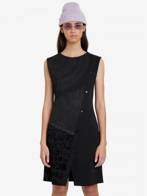 Washintong Šaty Desigual Černá