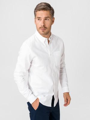 Oxford Košile Calvin Klein Bílá