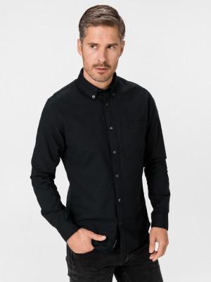 Oxford Košile Calvin Klein Černá