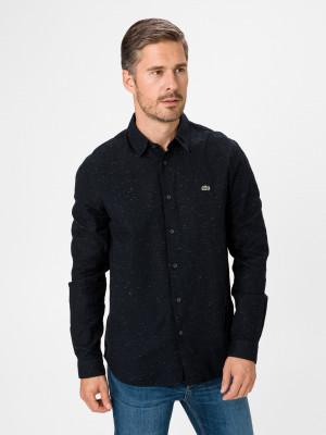 Flamed Cotton Košile Lacoste Modrá