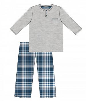 Pánské pyžamo 125/169 dave melanž
