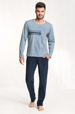 Luna 707 Pánské pyžamo XXL zrzavá