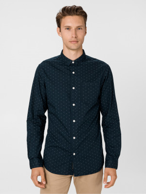 Windsor Košile Jack & Jones Modrá