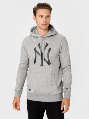 New York Yankees Team Logo Mikina New Era Šedá