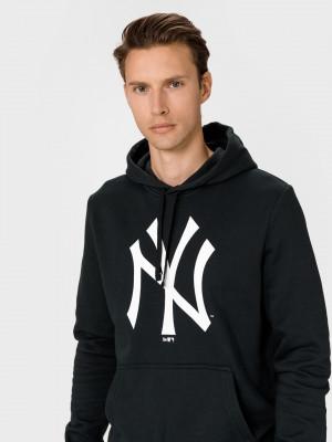 New York Yankees Team Logo Mikina New Era Černá