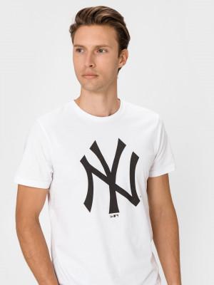 New York Yankees Triko New Era Bílá