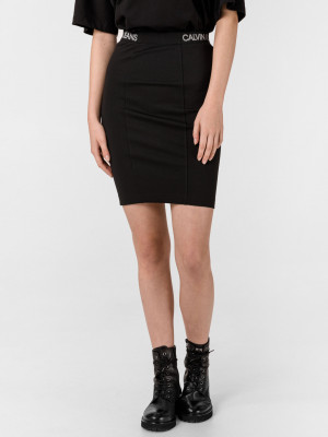 Milano Sukně Calvin Klein Černá