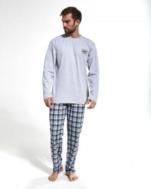Pánské pyžamo 124/164 YUKON Z*20 melanžová