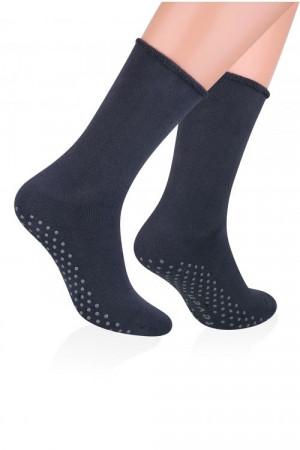 Pánské ponožky Steven frotte ABS art.013 černá 41-43