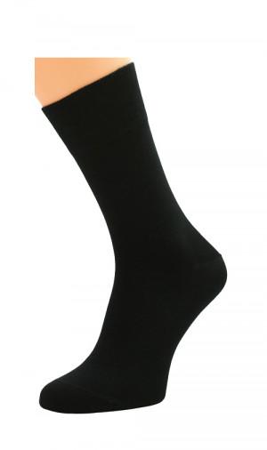 Pánské ponožky Bratex Popsox 0715 bambus černá 44-46