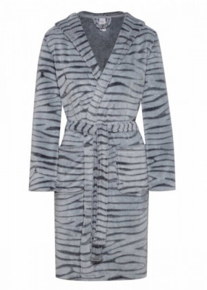 Henderson Ladies Winter 38279-90X šedý Dámský župan L/XL šedá