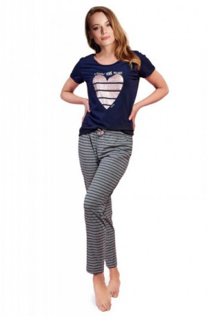 Henderson Ladies 38247 Winnona Dámské pyžamo XL navy