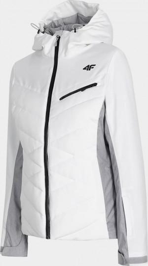 Dámská lyžařská bunda 4F KUDN256 Bílá Bílá