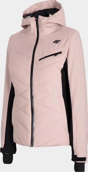 Dámská lyžařská bunda 4F KUDN256 Růžová Růžová