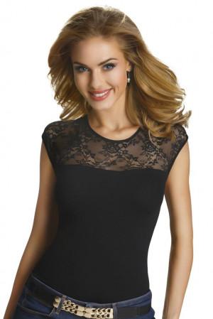 Dámské triko Paulina černé černá