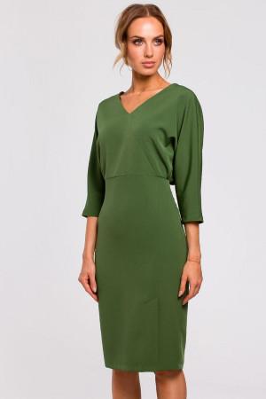 Dámské šaty M464 - MOE tmavě zelená 44/2XL