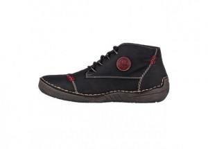 Kotníčková obuv RIEKER 52502-00