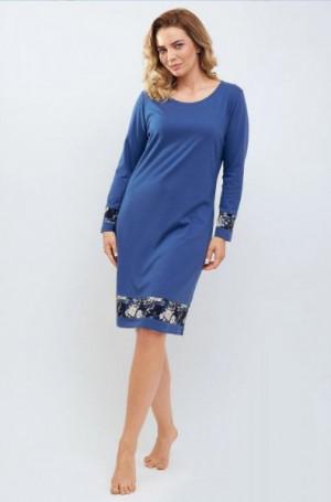Cana 866 Noční košilka XL indygo/tmavě modrá