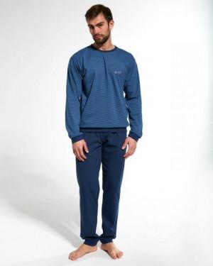 Cornette 308/161 N-York Pánské pyžamo L jeans