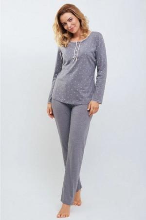 Cana 546 Dámské pyžamo S šedá