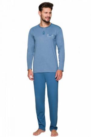 Regina 574 Pánské pyžamo plus size XXL fialová