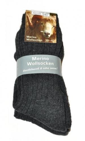 Ulpio Mum Sox Merino 31912 A'2 Pánské ponožky 43-46 mix barva