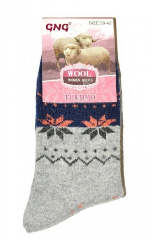 Ulpio GNG 3353 Thermo Wool Dámské ponožky 35-38 béžová