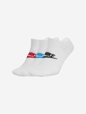 Sportswear Everyday Essential Ponožky Nike Bílá