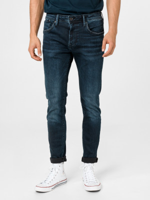 Stanley Jeans Pepe Jeans Modrá