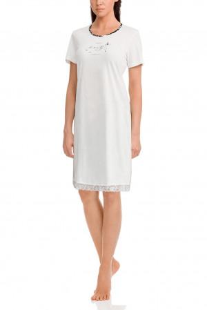 Dámská noční košile 12001-115 krémová - Vamp krémová