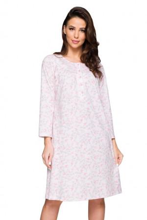 Dámská noční košilka Laila růžová růžová