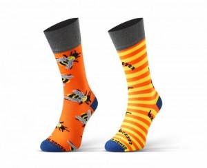 Sesto Senso Finest Cotton Duo Bzzzzz Ponožky 43-46 vícebarevná