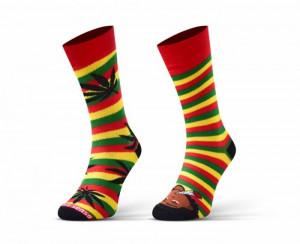 Sesto Senso Finest Cotton Duo Marihuanové Ponožky 43-46 vícebarevná
