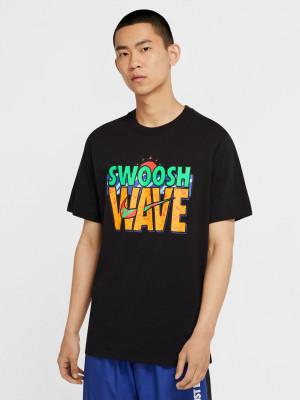Sportswear Summer Wave Triko Nike Černá