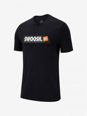 Sportswear Swoosh Triko Nike Černá