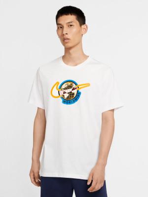 Sportswear Swoosh Worldwide Triko Nike Bílá