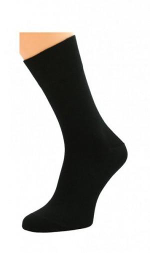Bratex Popsox 0715 bambus Pánské ponožky 44-46 černá