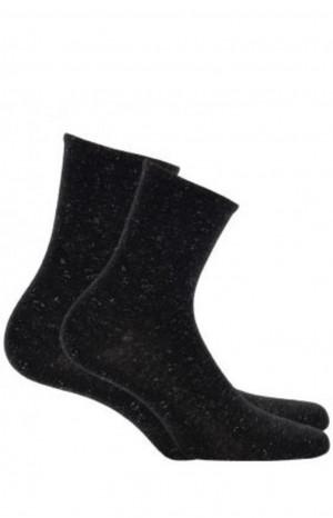 Dámské ponožky FANTAZYJNE šedá UNI