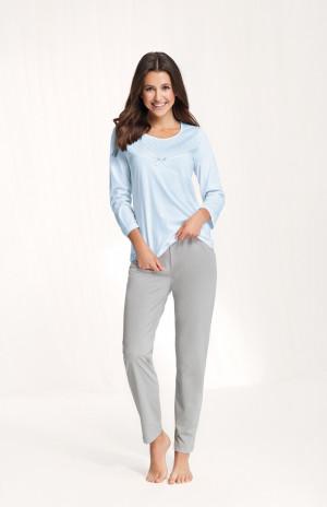 Dámské pyžamo 660 4XL modrá 4XL
