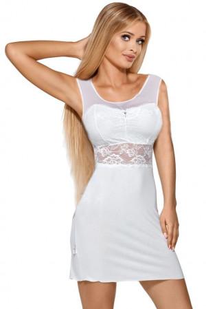 Luxusní košilka Dantelle ecru bílá