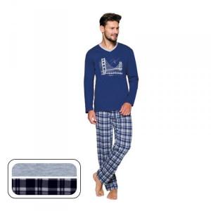 Regina 576 Plus Pánské pyžamo 2XL Melanžová