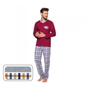 Regina 569 Plus Pánské pyžamo 2XL Melanžová