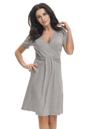 Těhotenská a kojicí košile Tara šedá šedá