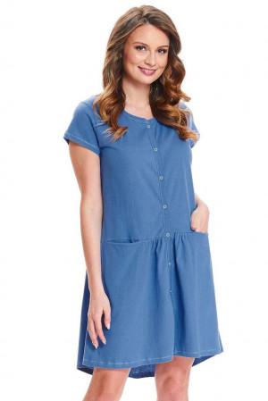 Kojicí noční košile Bella modrá modrá