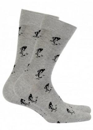 Wola Perfect Man W516 Pánské ponožky 42/44 ash