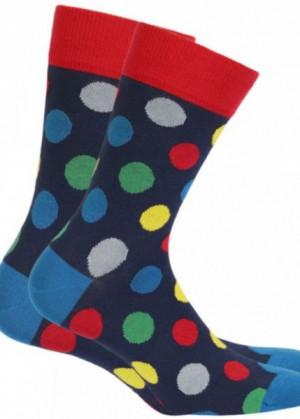 Wola Perfect Man W488 Pánské ponožky 42/44 navy