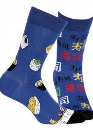 """Wola """"Nepárové"""" - FUNKY 091 Ponožky 43/46 saphire"""