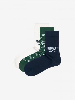 Ponožky 3 páry Reebok Barevná